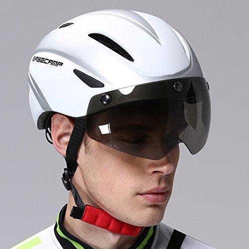 Basecamp Cycling Bike Helmets With Removable Shield Visor