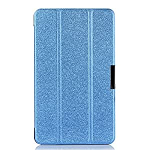 Goodsmile Tri-fold PU Leather Folding Stand Case Cover For Lenovo Thinkpad 8(Blue)