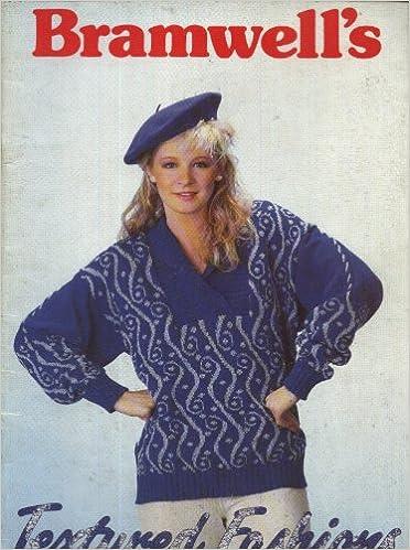 Bramwells Textured Fashions Machine Knitting Pattern Book 20 His