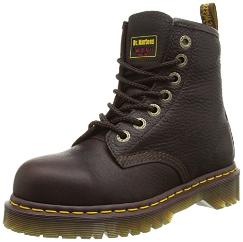 Dr. Martens Men's/Women's Icon 7B10 Boot,Bark,8 UK/9 M US (Leather Icon Boot)