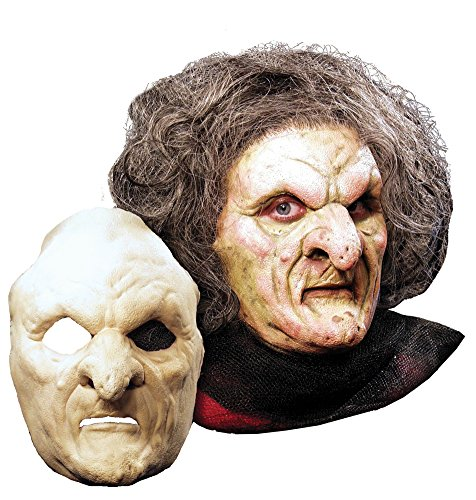 BESTPR1CE Halloween Mask- Witch Foam Latex Prosthetic Mask -Scary Mask -
