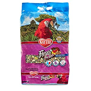 Kaytee Fiesta Big Bites Macaw Food, 10-Lb Bag 80