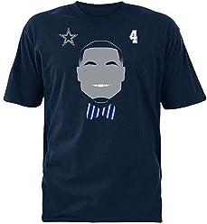 3131a556e6f Boys Dallas Cowboys Tee-Shirt - Dak Prescott Size 12-14