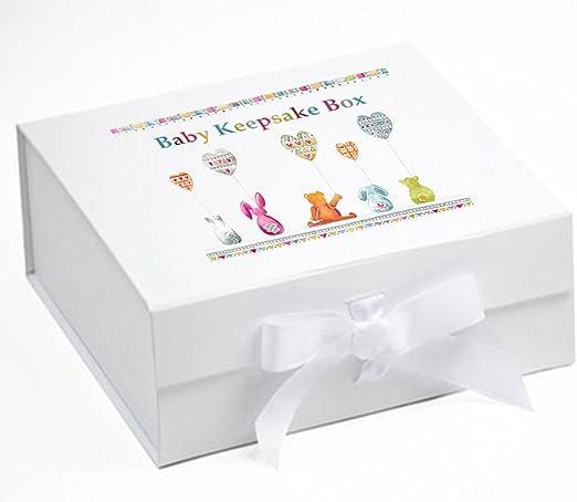 Caja de recuerdos para bebé, Memory Box, globos, bebé regalo, bebé ...