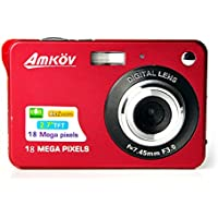 Amkov AMK-CDC3 Mini Digital Camera 2.7 inch 8 Megapixel Mini Portable HD Shooting Camera Pocket Camera