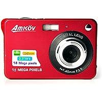 Amkov AMK-CDC3 Mini Digital Camera 2.7 inch 8 Megapixel Mini Portable HD Shooting Camera Pocket Camera