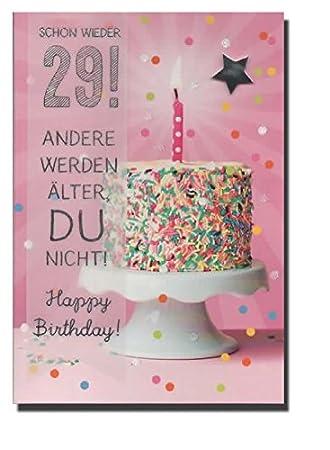 Geburtstagskarte zum 30. Geburtstag   Schon wieder 29   DEP004