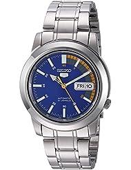 Seiko Mens SNKK27 Seiko 5 Stainless Steel Automatic Watch
