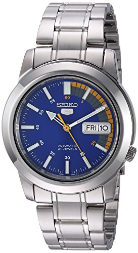 - Seiko Men's SNKK27 Seiko 5 Stainless Steel Automatic Watch
