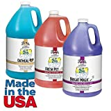 Pet Grooming Shampoo Gallon High Concentrate Formula Pro Groomers Dilutes 64:1(Set of All Three)