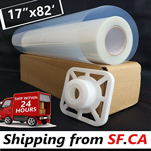 "17""x82'/roll,3'' core,Premium Waterproof Inkjet Transparency Instant Dry Film Paper for Screen Printing for EPSON T3270/7800 Printer by Tiger-Hoo(Shipping from SF.CA USA)"