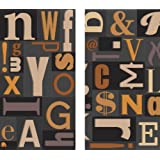 HomArt Fireplace Matches, Large, Typeset Design