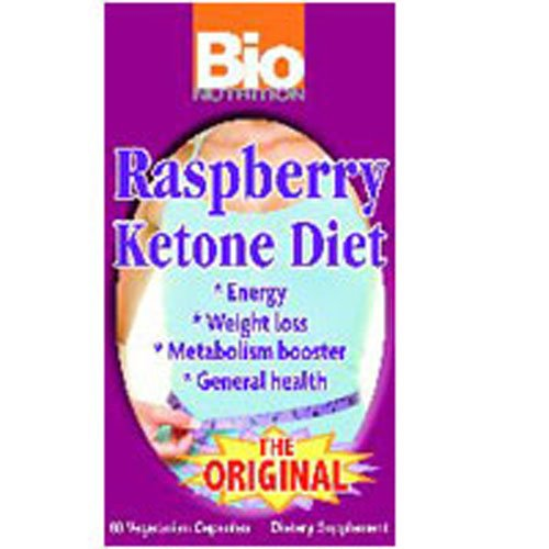 Bio Nutrition Inc Raspberry Ketone Diet Vegetarian Capsules, 3 pack