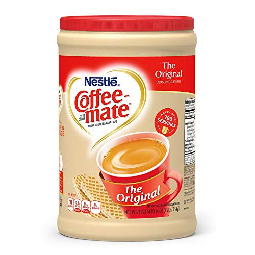 Nestle Coffee-mate Coffee Creamer 56oz. Canister (Pack 4)