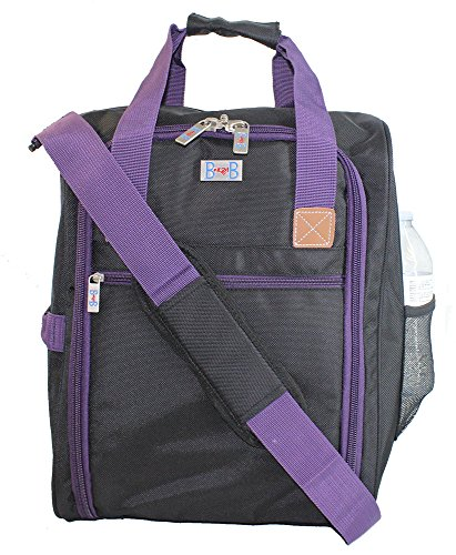 Boardingblue New Under Seat Duffel Bag For Jetblue Airlines  Purple