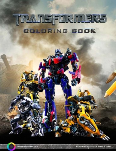 Transformers Coloring Book: Adventures of the Transformers -