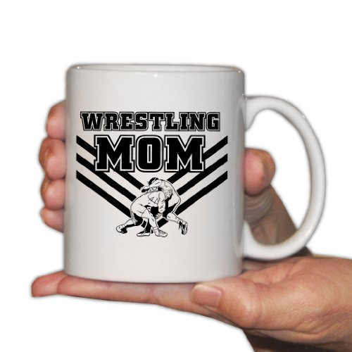 Wrestling Mom 11oz Coffee Mug product image