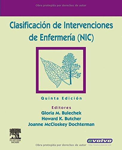 Clasificacion de Intervenciones de Enfermeria (NIC)