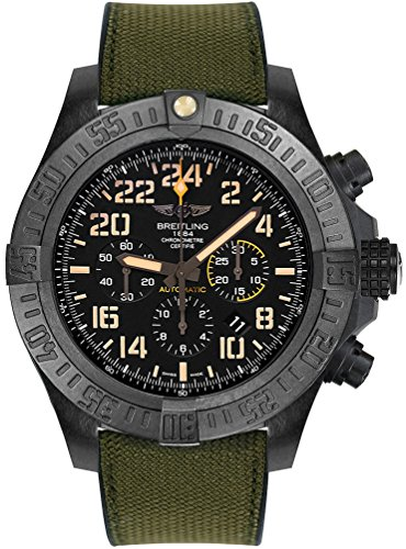 Breitling Avenger Hurricane Military Automatic Men's Watch XB12101A/BF46-283S