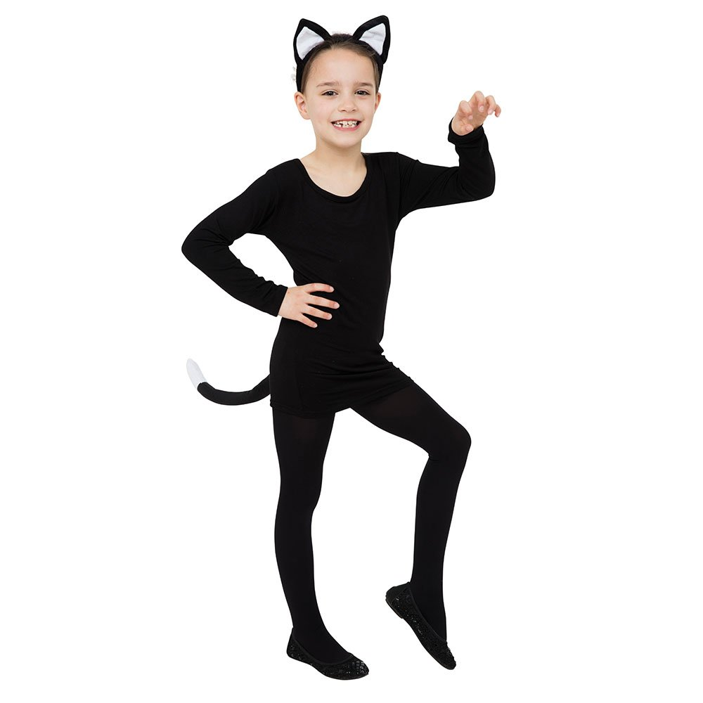Bristol Novelty DS156 Cat Set Ears and Tail Unisex-Child Black One  sc 1 st  Amazon UK : catwoman costume for children  - Germanpascual.Com