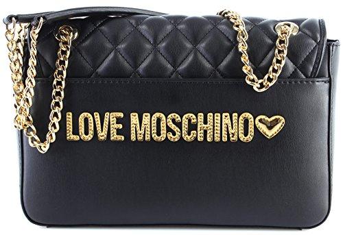 Amore Moschino Super Trapuntato Schultertasche Black_black X