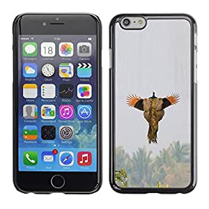 Plastic Shell Protective Case Cover || Apple iPhone 6 || Spring Hunting Nature Wings @XPTECH