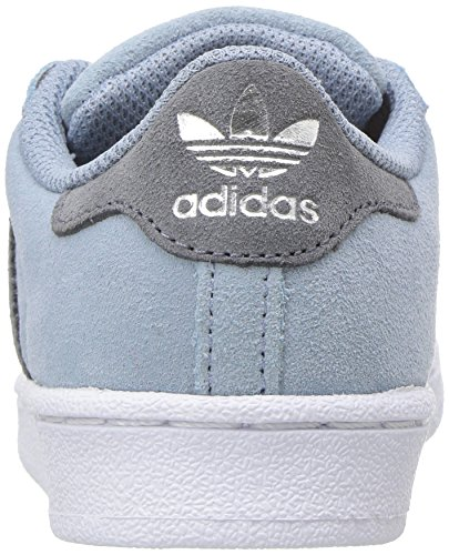 Adidas Niños onix Superstar onix Tactile Unisex Zapatillas Originals Blue axrIqFaw