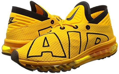 Black Flair Hombre Running Zapatillas para de NIKE Universidad Air Dorado MAX waqSc7v