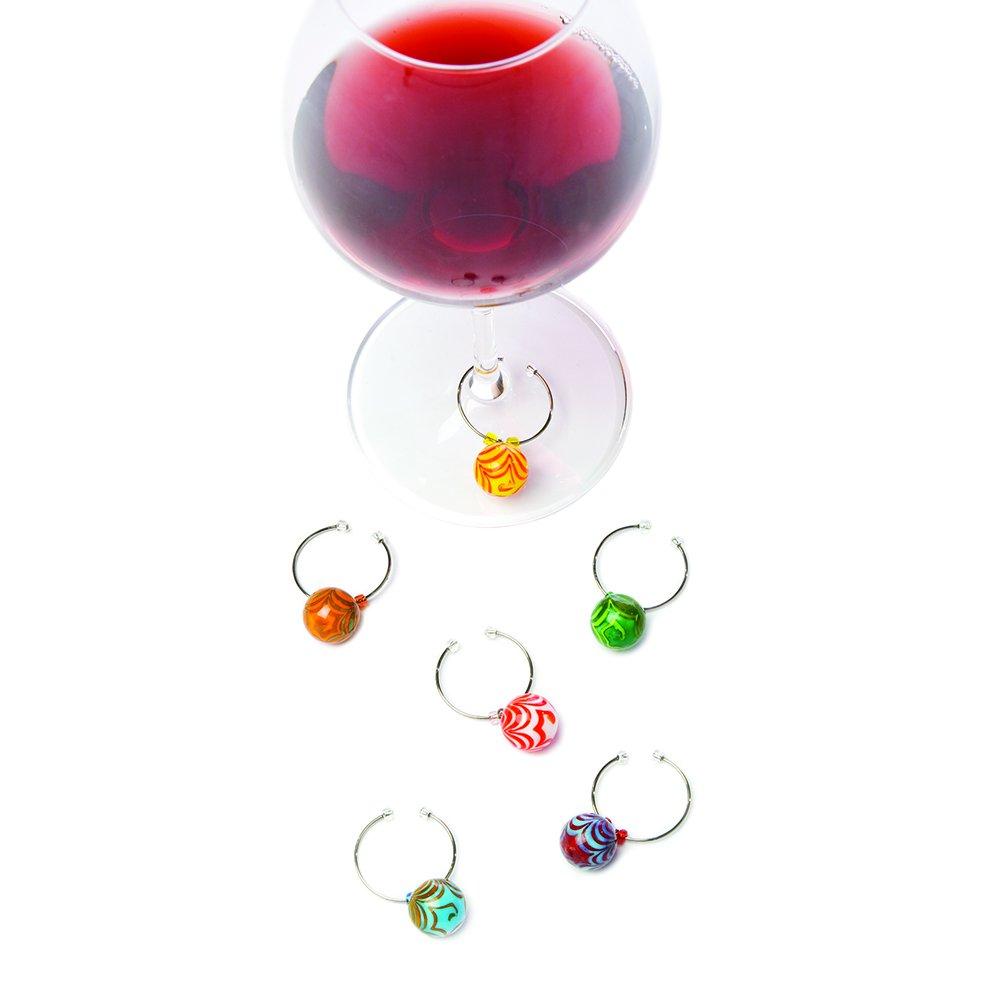 Six Different Glass Ball Designs