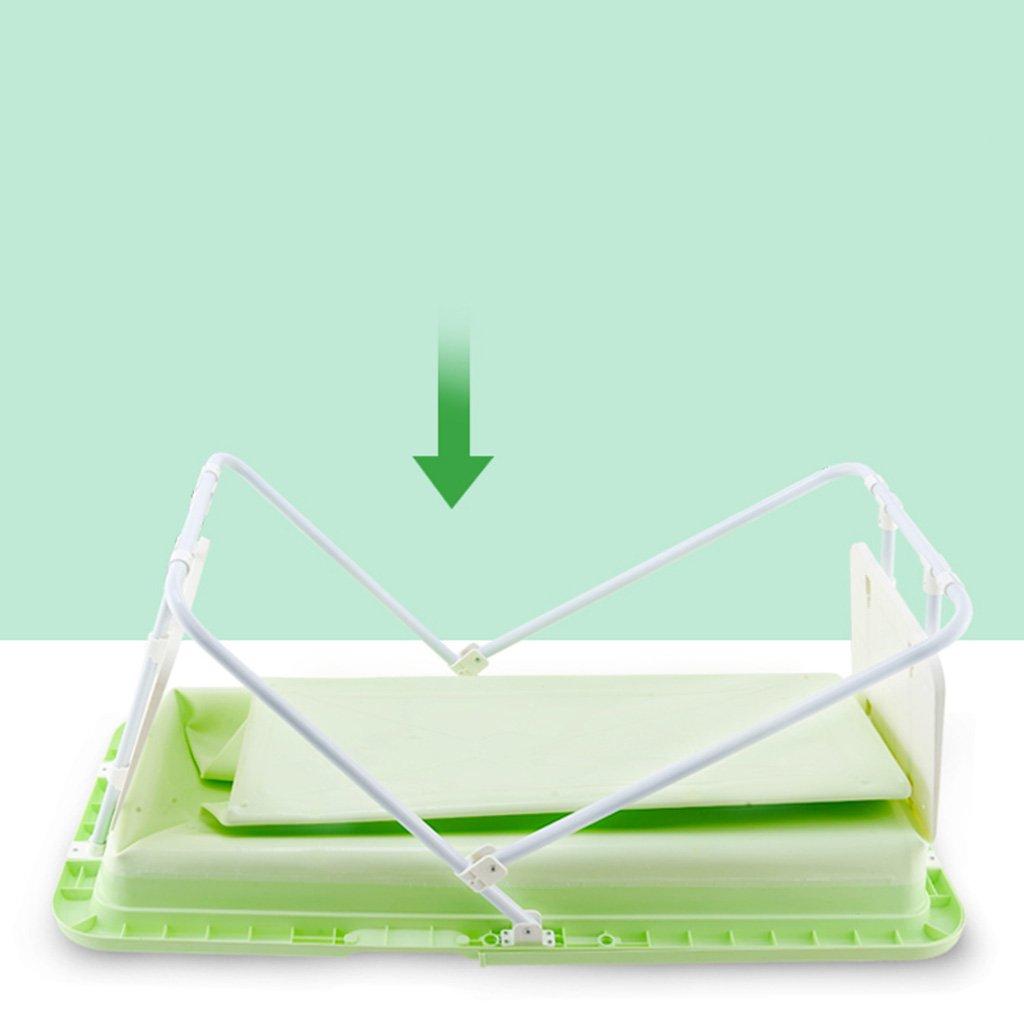 Ren Chang Jia Shi Pin Firm Ba/ñera Plegable Ba/ño Barril Aislamiento Port/átil Ba/ño Adulto Ba/ñera de pl/ástico Ba/ñera de hidromasaje Ba/ño Familiar Jacuzzi Color : Green, Size : 110*59*57cm