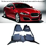 Interior Accessories Floor Mats Carpets Foot Pads For Jaguar XF X250 2009-2015 (Left Hand Side Driving)