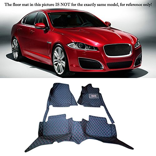 Interior Accessories Floor Mats Carpets Foot Pads For Jaguar XF X250 2009-2015 (Left Hand Side Driving) by HIGH FLYING