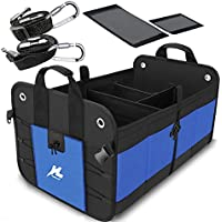 H-Zonealp Auto Portable Collapsible Car Trunk Storage Organizer with Straps