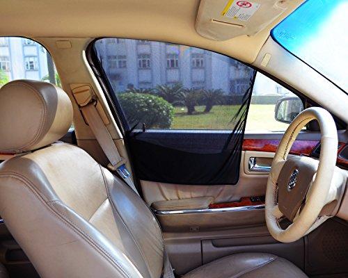 - Bayan Front Side Window Sun Shade Car Window Shade Driver Side Window Sunshades-2 Pack