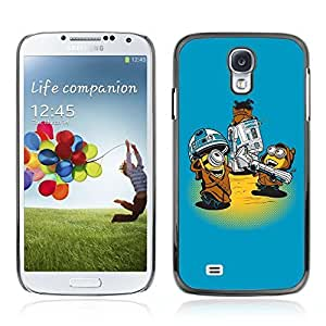 Colorful Printed Hard Protective Back Case Cover Shell Skin for Samsung Galaxy S4 IV (I9500 / I9505 / I9505G) / SGH-i337 ( Funny Star Creatures )