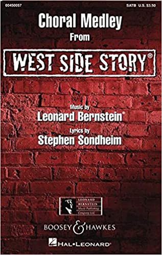 choral selection from west side story satb