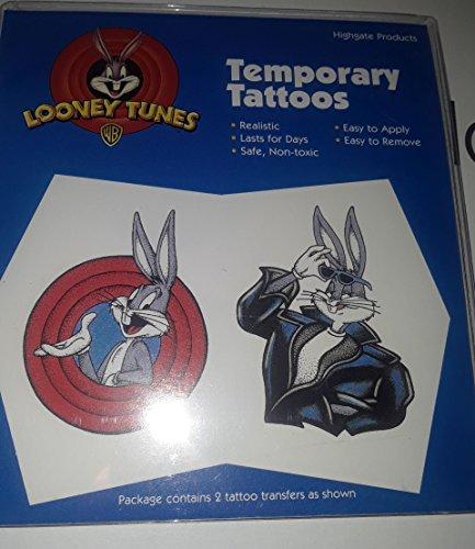 - Looney Tunes Bugs Bunny Temporary Tattoo