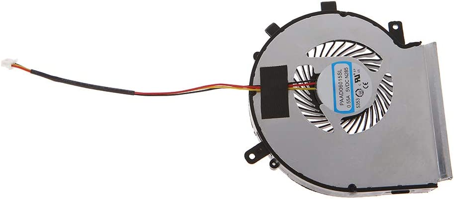 zhiounny Laptop Cooler CPU Cooling Fan Replacement for MSI GE62 GE72 GL62 GL72 PE60 PE70