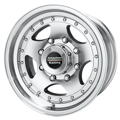 American Racing Custom Wheels AR23 Machined Wheel With Clear