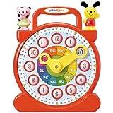 Tong Design 水滴 木製 掛け時計 5分もかからず 子供も 時計が読めるようになる