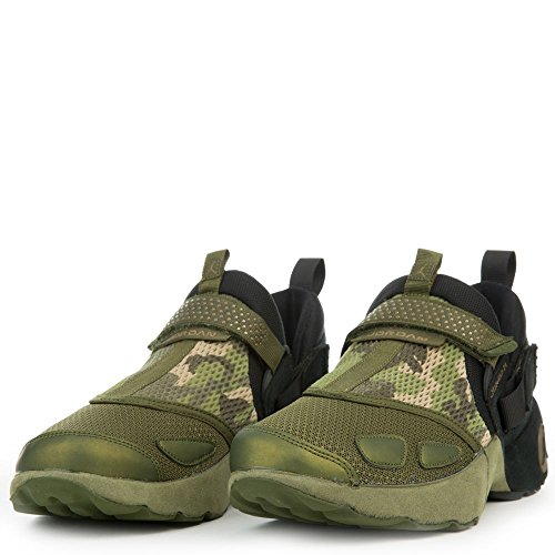 designer fashion 37f1e 34337 NIKE Jordan Trunner LX PR HC Big Kid s Basketball Shoes Black Black-Legion  Green 897997-030 (6 M US)
