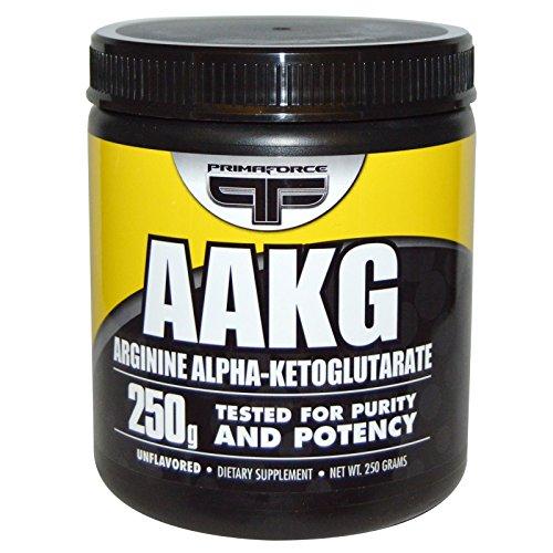 Primaforce, AAKG, Arginine Alpha-Ketoglutarate, Unflavored, 250 g - 3PC by Primaforce