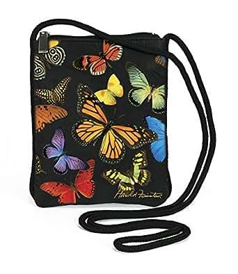 Harold Feinstein Butterfly Slim Shoulder Bag, Multi, One Size