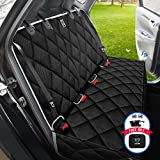 BRONZEMAN Dog Seat Cover for Back Seat - 100% Waterproof & Eco Car Seat Protector,Heavy-Duty and Nonslip Back Seat Cover for Dogs and Kids,Strong & Durable,Universal Size Fits for Cars, Trucks & SUVs