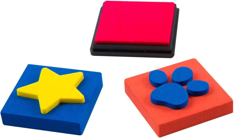 Multicolore PAW PATROL PWP15/ Stencil e Set di Adesivi /4659/Scratch