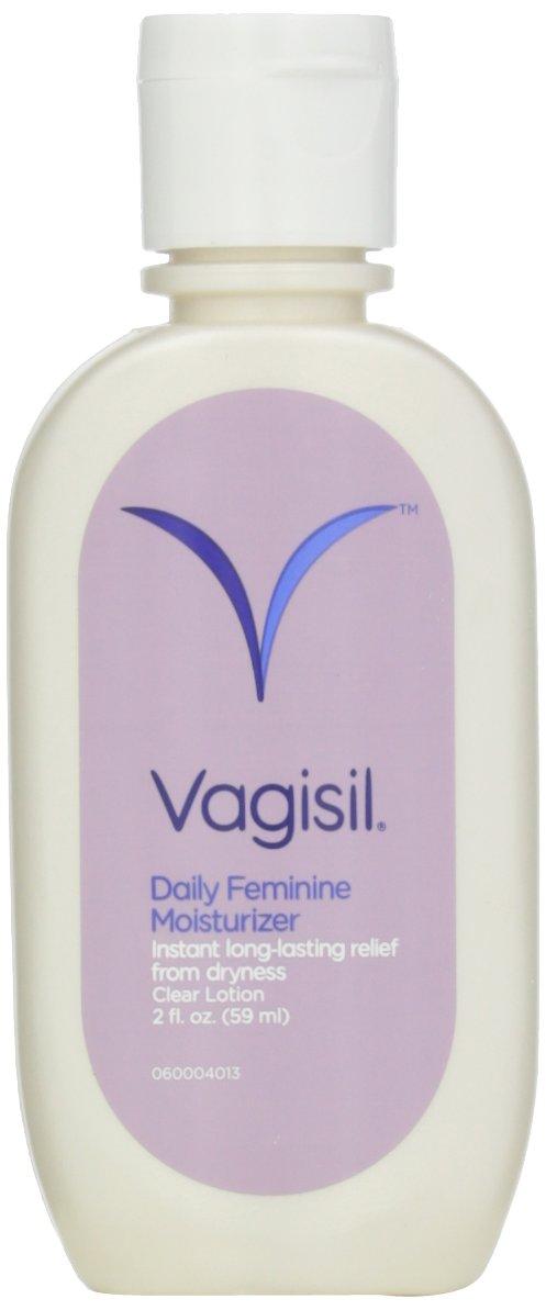 Vagisil Feminine Moisturizer, Clear Lotion, 2-Ounces (Pack of 4)