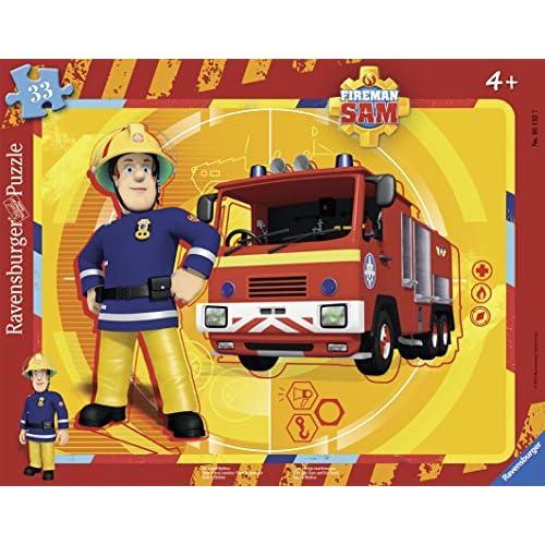Ravensburger 06132 - Puzzle - Sam et son camion - 35 pièces
