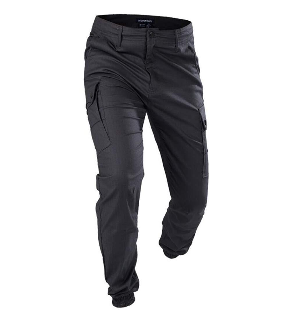 SGOYH Pantalon de Paintball /à Poches Multiples pour Hommes Pantalon Tactique Airsoft Duty Pantalons