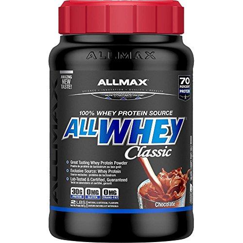 - Allmax Allwhey Protein Powder Chocolate 908G