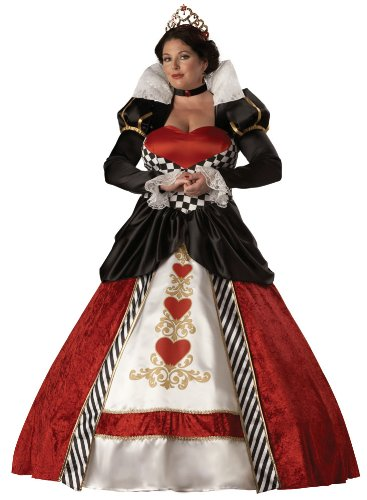 [Queen of Hearts Costume - Plus Size 2X - Dress Size 20-22] (Plus Size Queen Of Hearts)